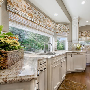 Transitional Kitchen and Bath