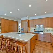 Transitional Kitchen by Andrew Roby General Contractors