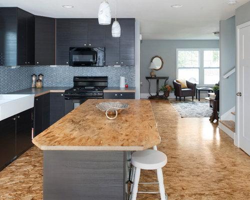 cuisine petit budget avec un lectrom nager noir photos et id es d co de cuisines. Black Bedroom Furniture Sets. Home Design Ideas