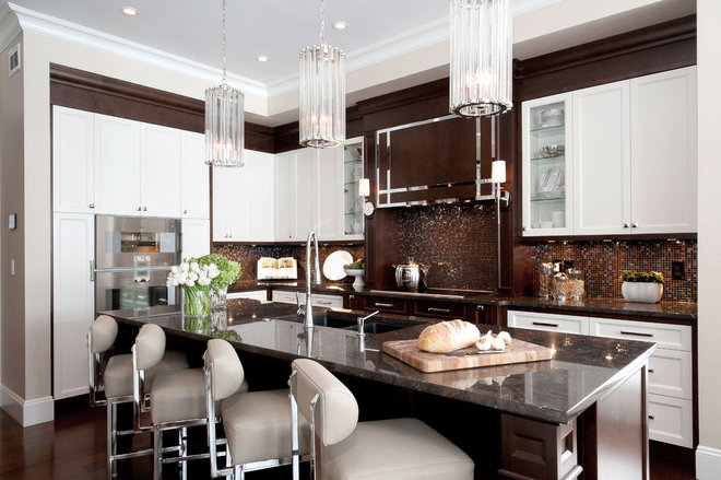 Traditional Kitchen by Atmosphere Interior Design Inc.