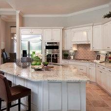 Transitional Kitchen by Beasley & Henley Interior Design