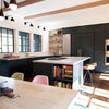 Kitchen of the Week: Blue-Black Cabinets Bring the Drama