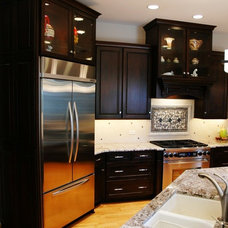Transitional Kitchen by The Kitchen Master