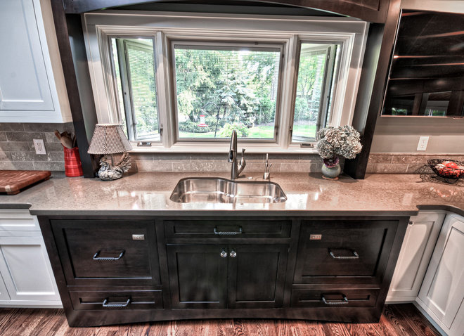 Transitional Kitchen by Capozzi Design Group