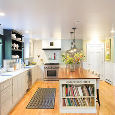 Transitional Kitchen by Celia Bedilia