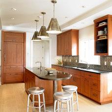 Contemporary Kitchen by Christine Donner Kitchen Design Inc.