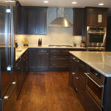 Transitional Kitchen by Creative Kitchen Designs, Inc.
