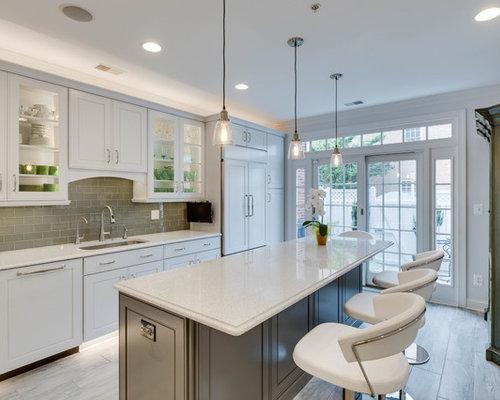 Transitional Kitchen Design Alexandria, VA by Reico Kitchen & Bath