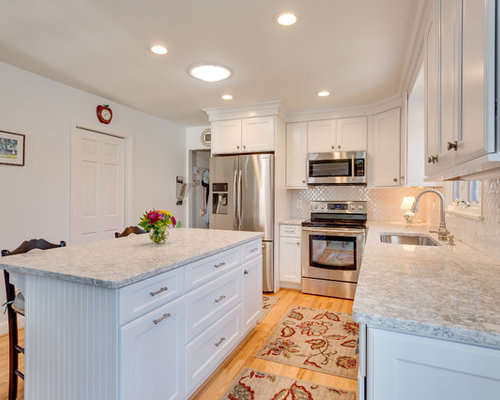 Save. Transitional Kitchen Design Alexandria, VA