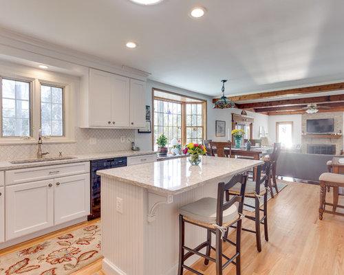 Save. Transitional Kitchen Design Alexandria, VA