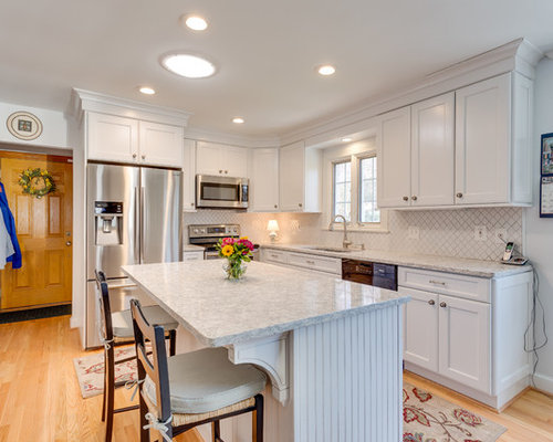 Bon Transitional Kitchen Design Alexandria, VA