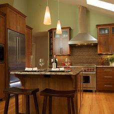 Transitional Kitchen by Designer's Edge Kitchen & Bath