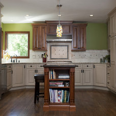 Eclectic Kitchen by Design First  Builders