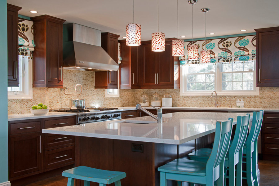 Transitional Kitchen/Family