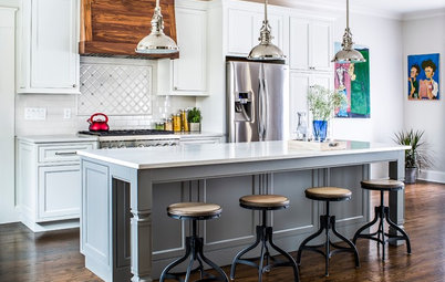 New This Week: 3 Ways to Balance a White Kitchen