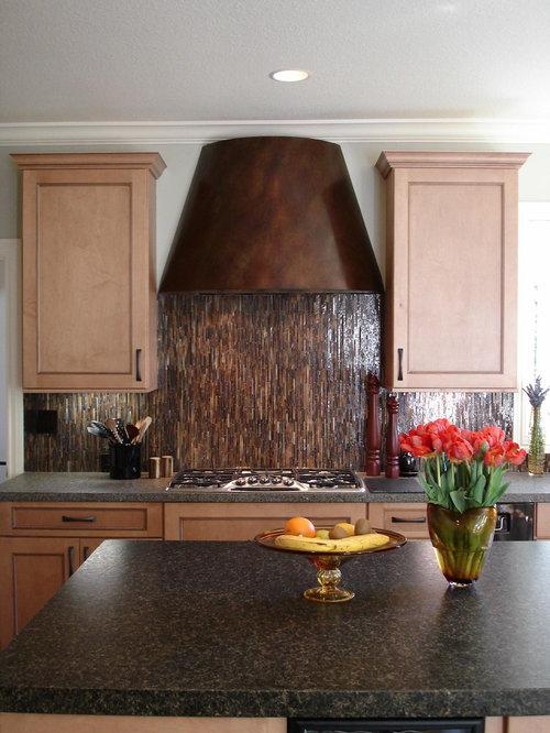 vertical backsplash tile home design ideas renovations photos