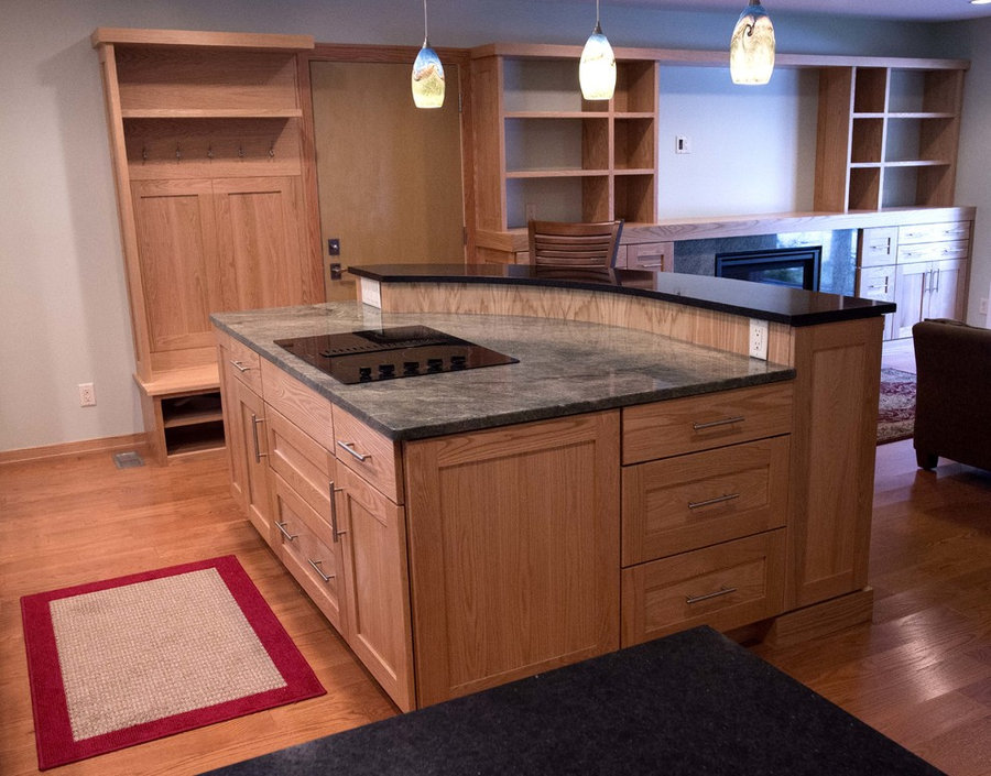 Transitional Kitchen/Great Room Remodel Champaign
