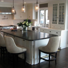 Transitional Kitchen by Hoskins Interior Design