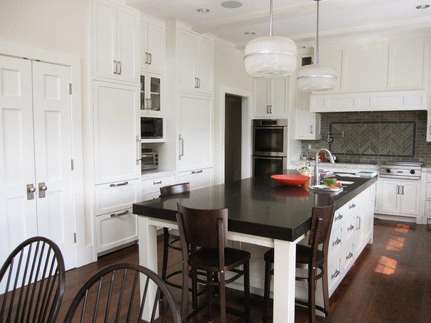 Transitional Kitchen by Tim Barber LTD Architecture & Interior Design
