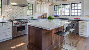 Transitional Kitchen in Historic Home