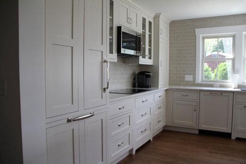 Beautiful Marshmallow Cream Kitchen Design Ideas Renovations Photos