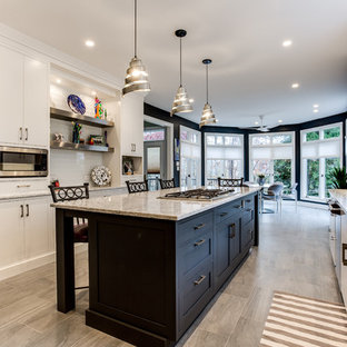 Transitional Kitchen in Potomac