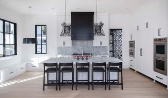 Transitional Family Home with Modern Elements Kitchen