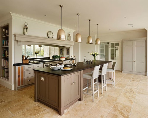 Kitchen with Brown Cabinets Design Ideas & Remodel Pictures | Houzz