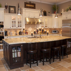 Transitional Kitchen by KabCo Kitchens