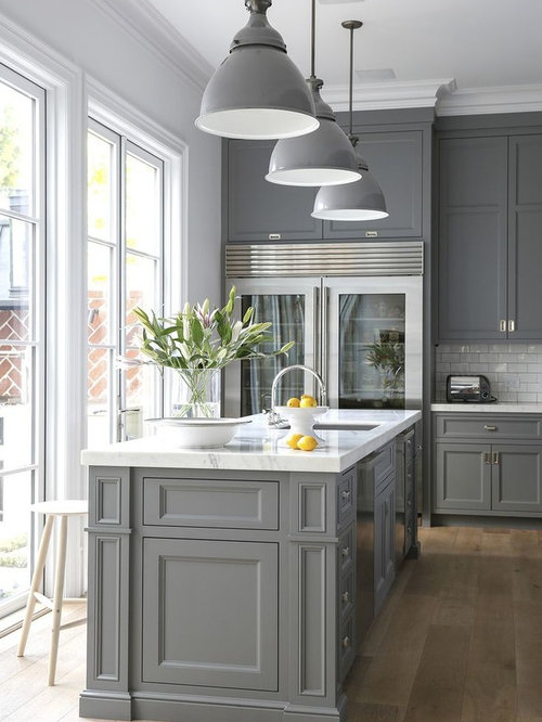 inspiration for a transitional light wood floor kitchen remodel in houston with an undermount sink 42 inch upper cabinets ideas  u0026 photos   houzz  rh   houzz com