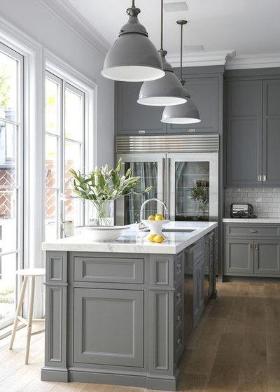 Transitional Kitchen by Kitchen & Bath Decor