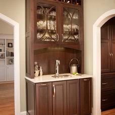 Transitional Kitchen by Kitchen & Bath Design Studio