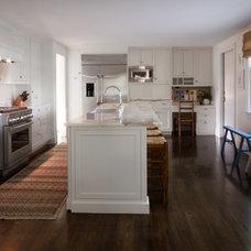Transitional Kitchen by LeBlanc Design