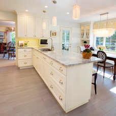 Transitional Kitchen by Lee Meier Interiors