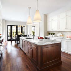 Transitional Kitchen by Lisa Petrole Photography