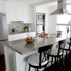 Transitional Kitchen by MAJ Interiors