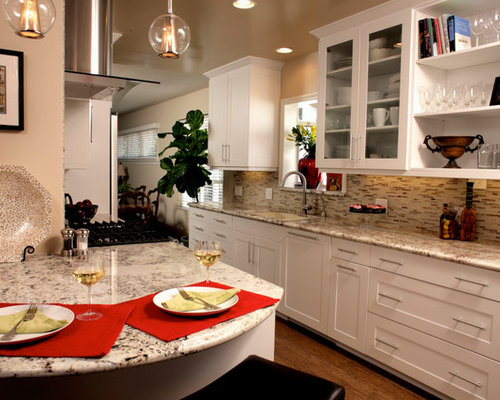 White Galley Kitchen white galley kitchen | houzz