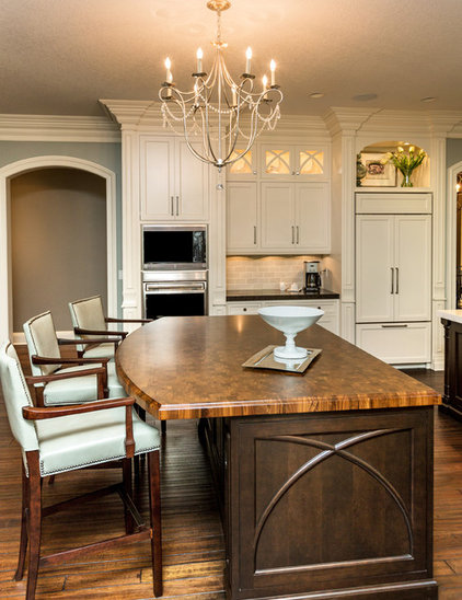 Transitional Kitchen by Meghan Blum