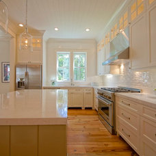 Transitional Kitchen by Melissa Lenox Design