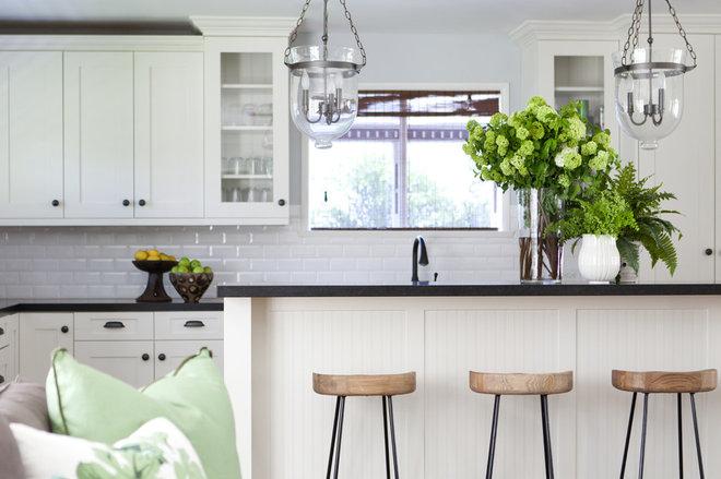 Transitional Kitchen by Meredith Ellis Design