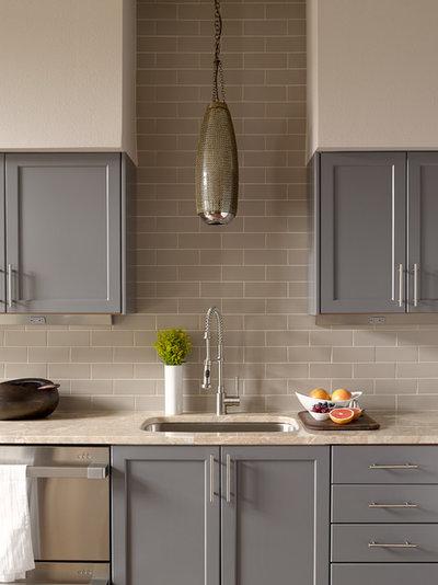Transitional Kitchen by Michelle Dirkse Interior Design