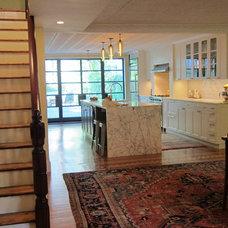Eclectic Kitchen by Neuhaus Design Architecture, P.C.