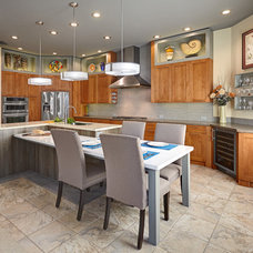 Transitional Kitchen by Nicolette Patton, CKD