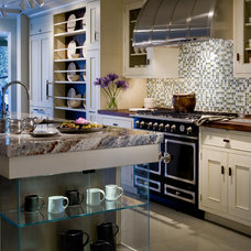 Transitional Kitchen by Past Basket Design