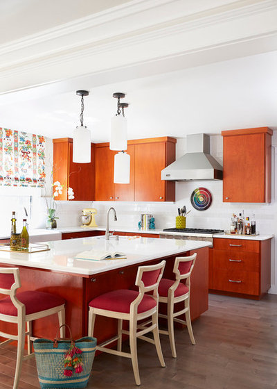 Transitional Kitchen by PepperJack Interiors