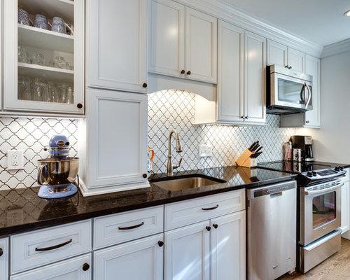 Merillat bellingham home design ideas pictures remodel for Merillat white kitchen cabinets