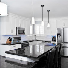 Transitional Kitchen by Concept Kitchen and Bath