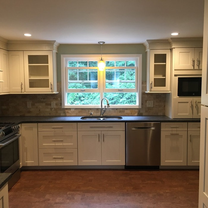 Queensbury Transitional Kitchen Remodel