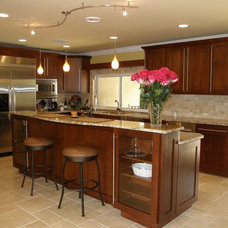 Transitional Kitchen by Allied Kitchen and Bath