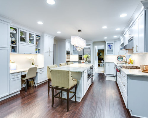 Gorgeous Kitchen Renovation In Potomac Maryland: Transitional Kitchen Remodel Pikesville, MD By Reico